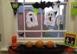 Halloween at Stepping Stones Nursery Durham